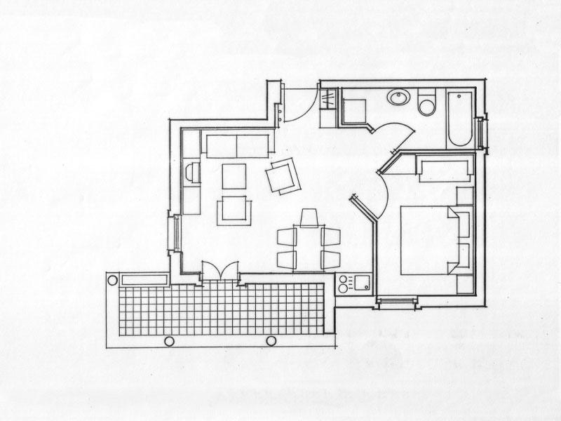 Tlocrt apartmana