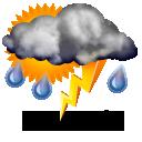 Moguća oluja s grmljavinom